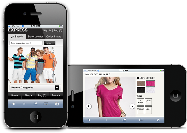 Ultimate Design Guidelines For Mobile E-commerce - RED SIGNAL